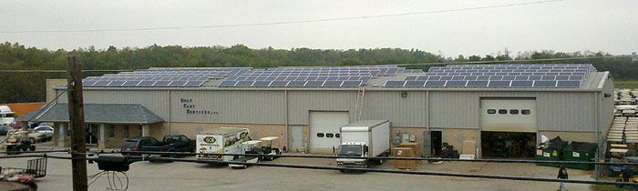 Commercial Solar Power Hallam PA